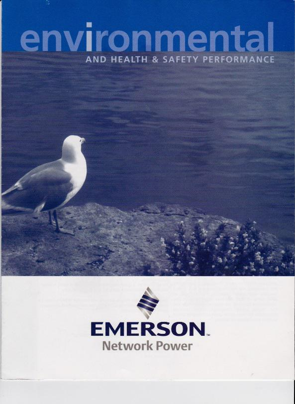 Environmental, Health and Safety Brochure